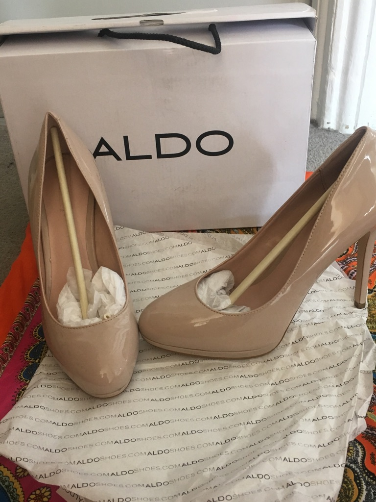 ALDO shoes - nude heels