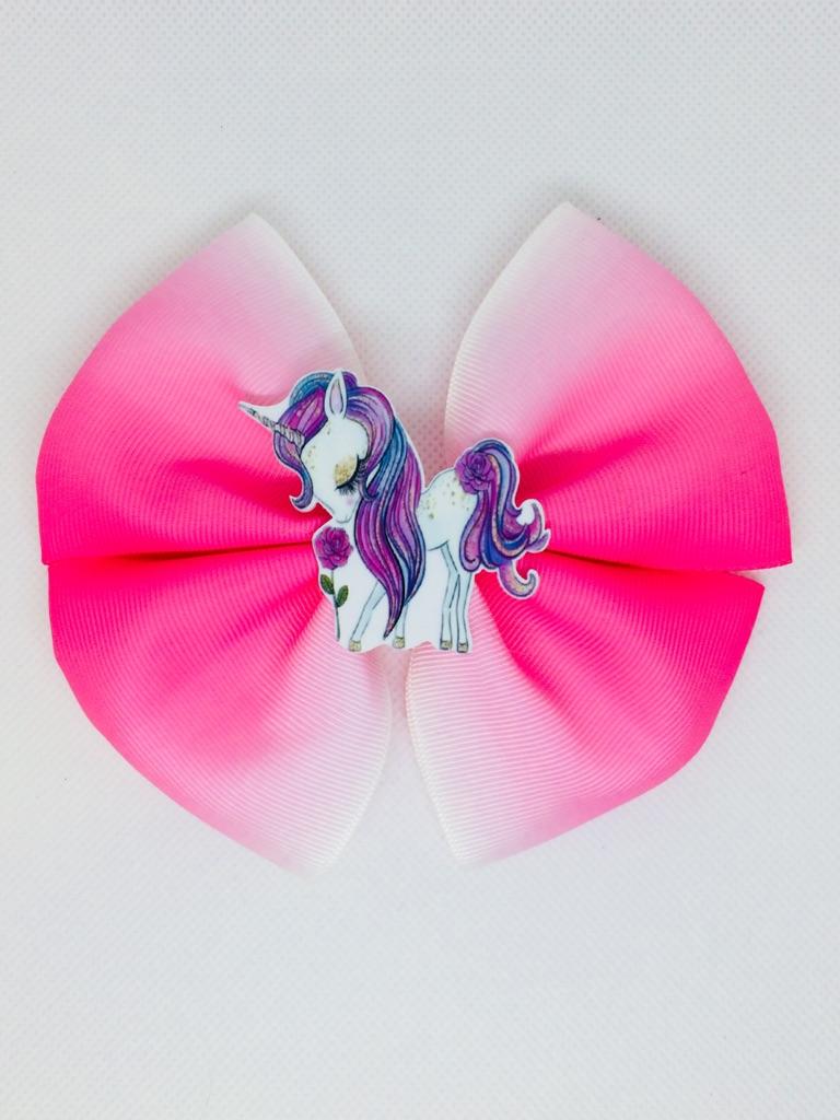 Unicorn hair bows