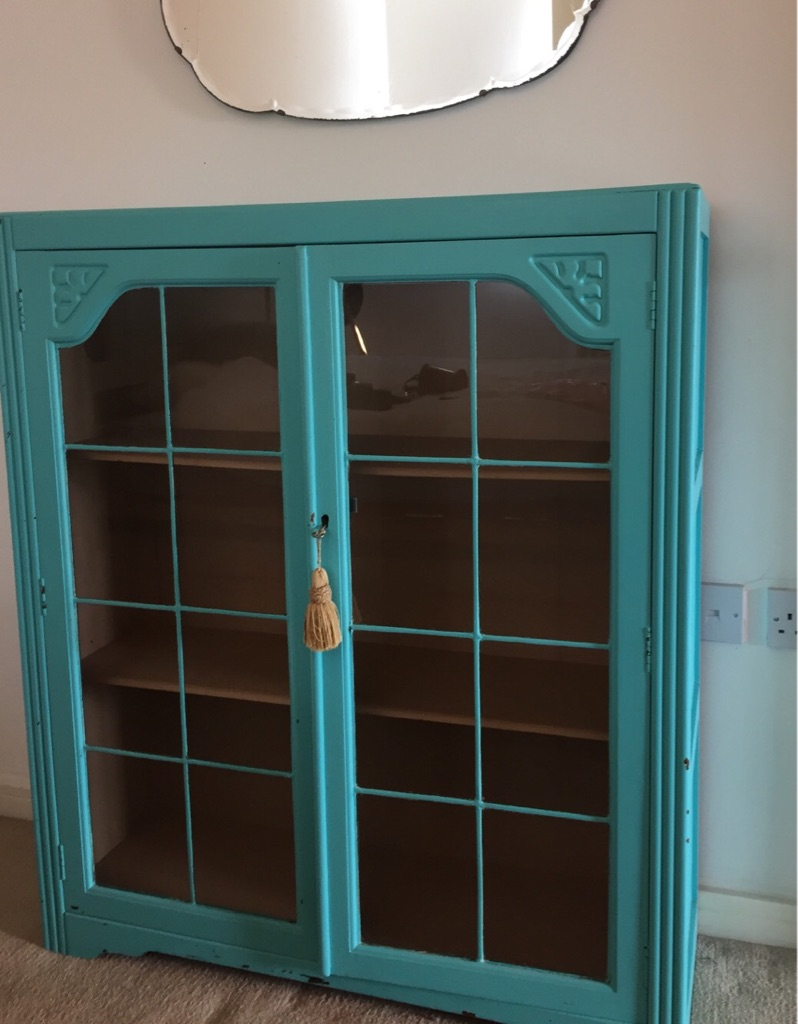 Original Art Deco Bookcase - excellent condition -