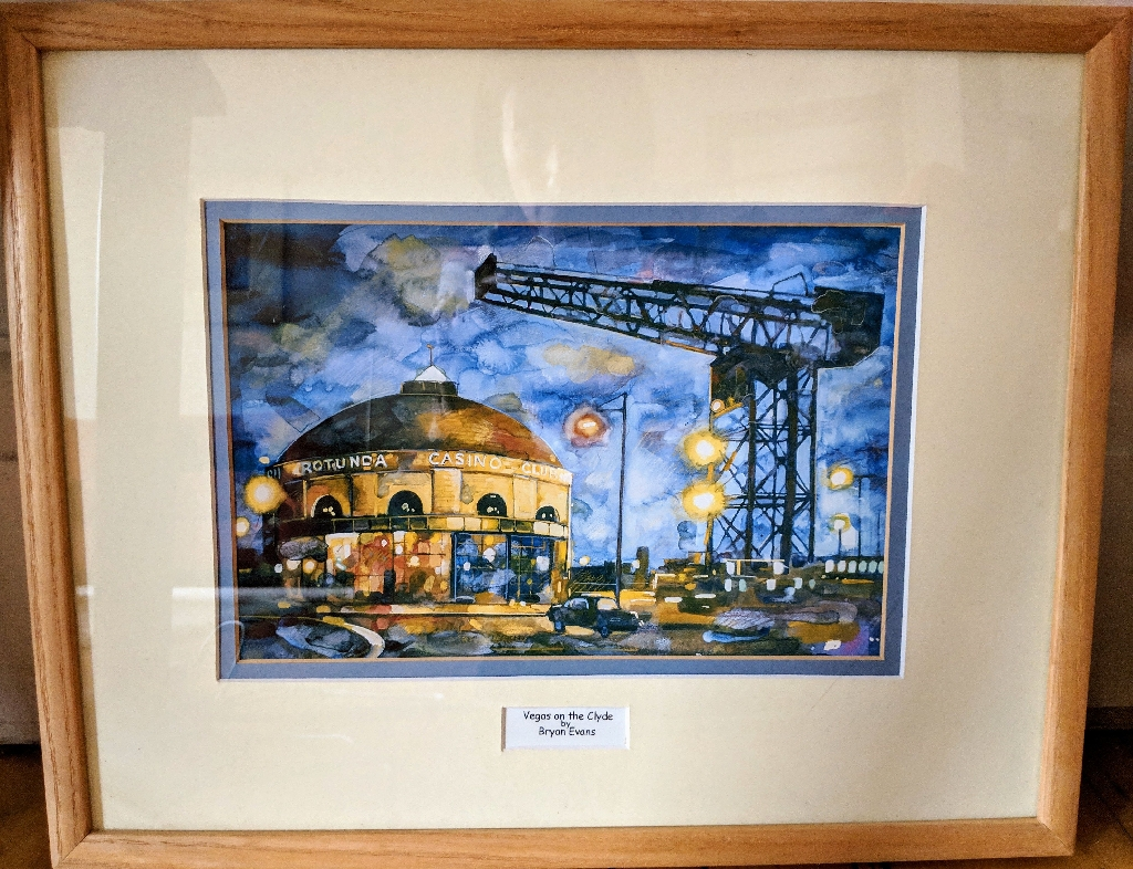 Framed Glasgow prints
