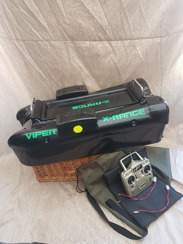 Viper x range bait boat