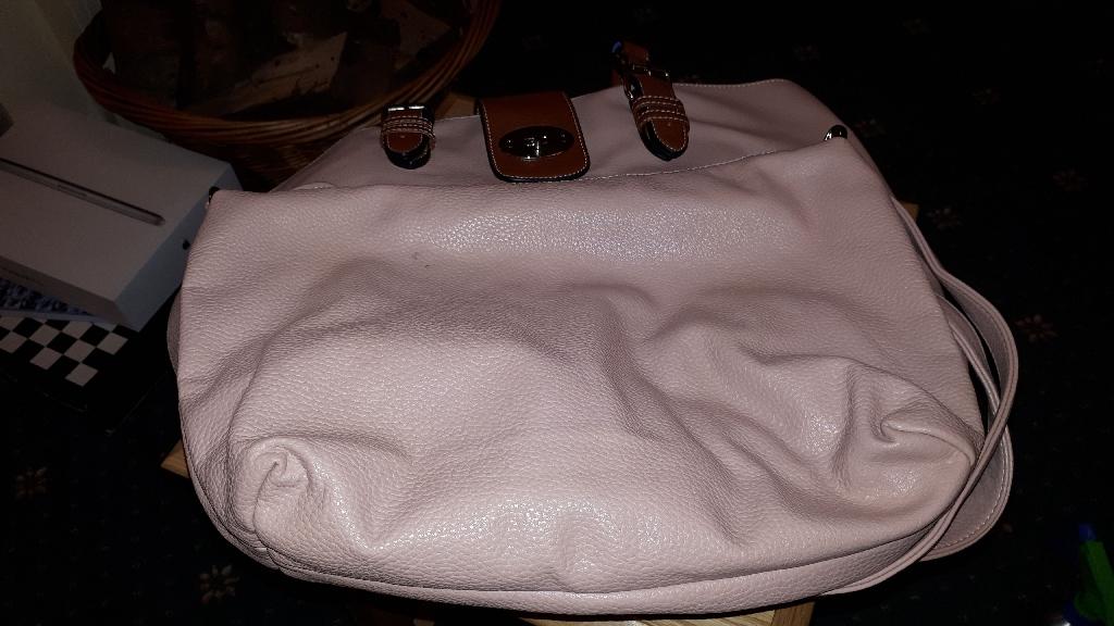 Two Pink Handbags