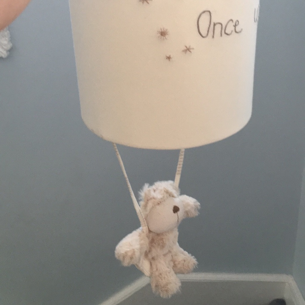 Once upon a time lamp shade