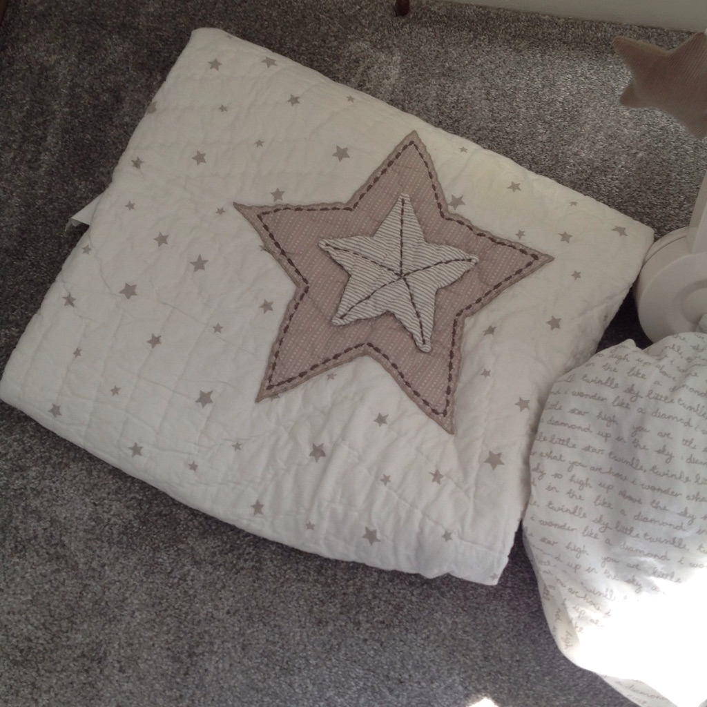 Millie and Boris cot bed set