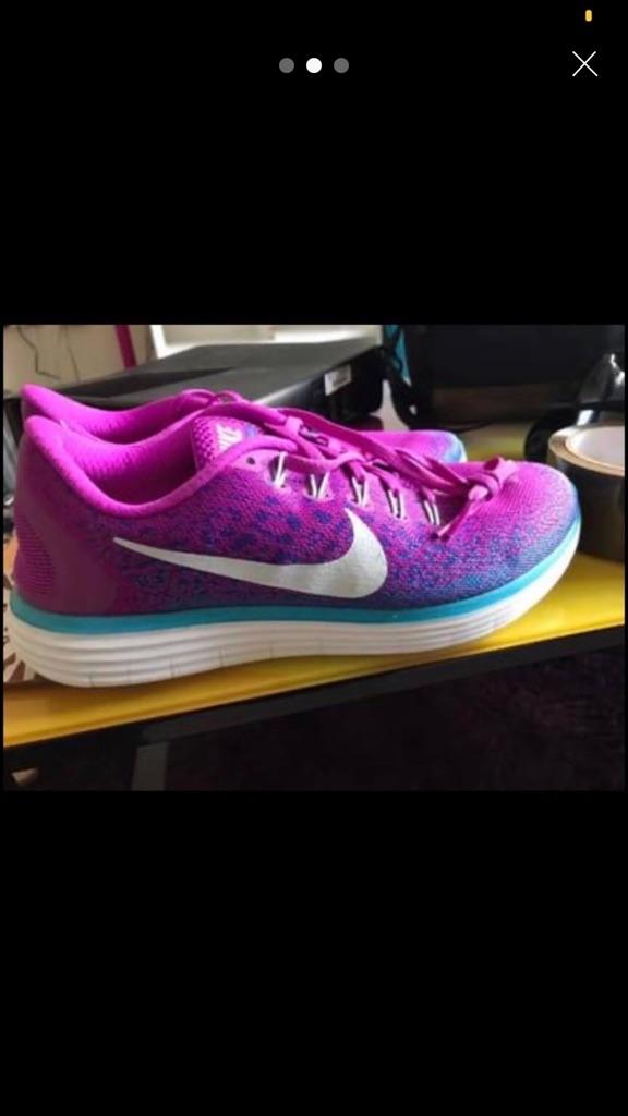 Nike purple trainers