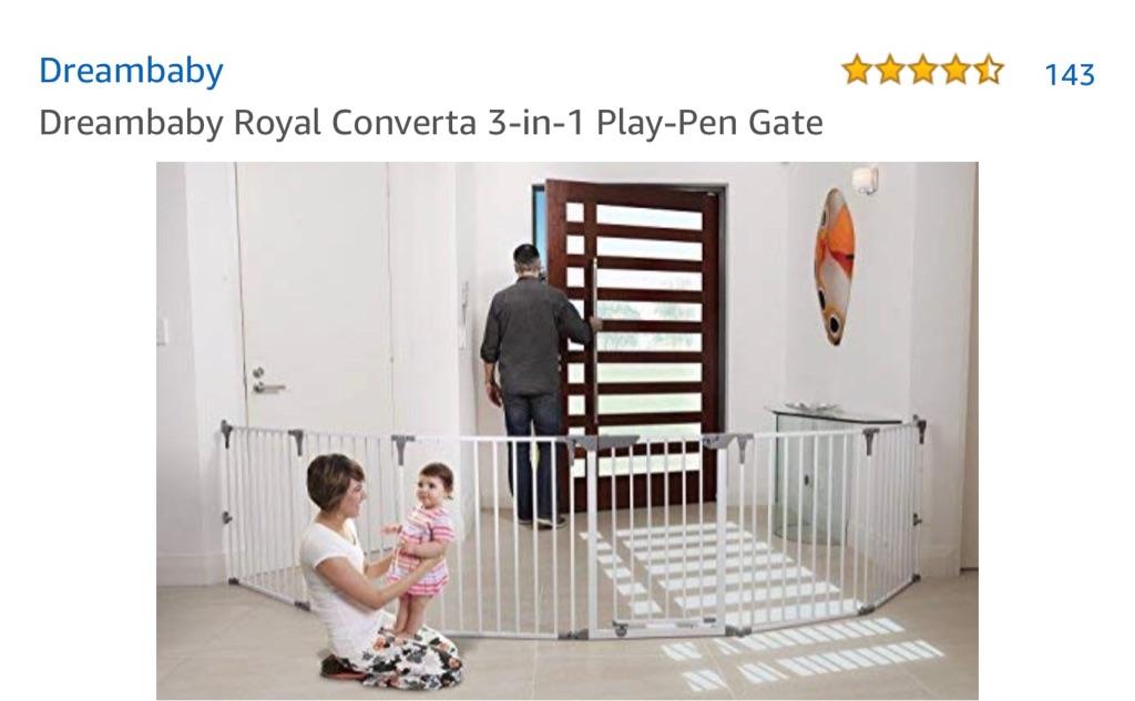 Baby gate/ baby pod