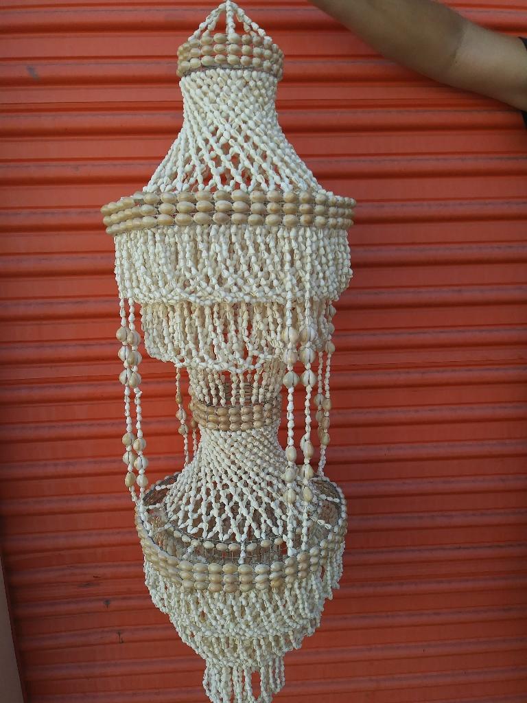 Vintage Sea Shell Chandelier