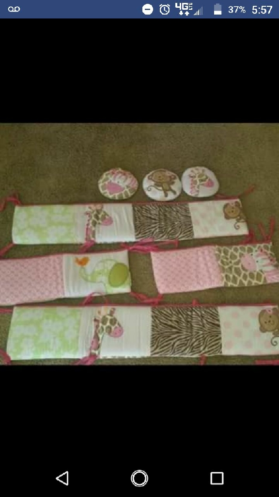 Infant toys and crib bedding GREAT CONDITION