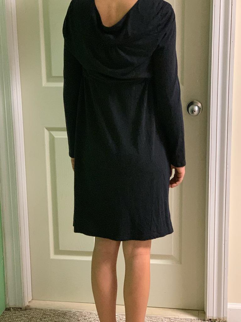 Long sleeve junior dress