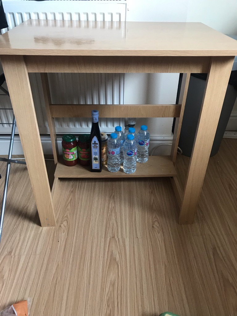 LIKE NEW OFFICE DESK- BEECH EFFECT
