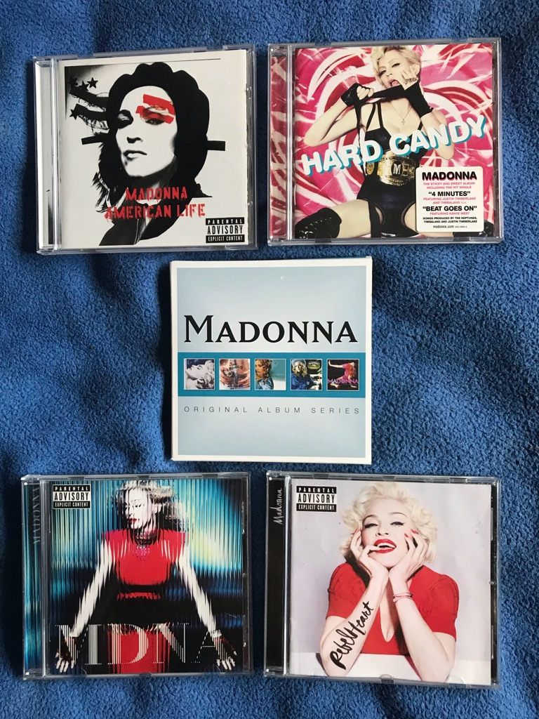 Bundle Of Madonna CD Albums