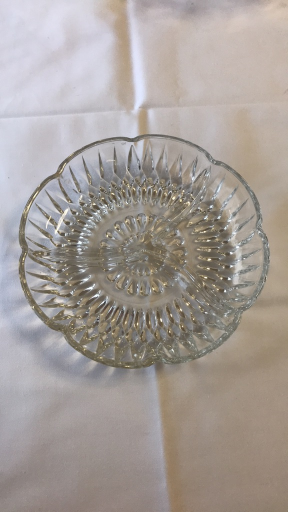 2 Small Glass Dishes
