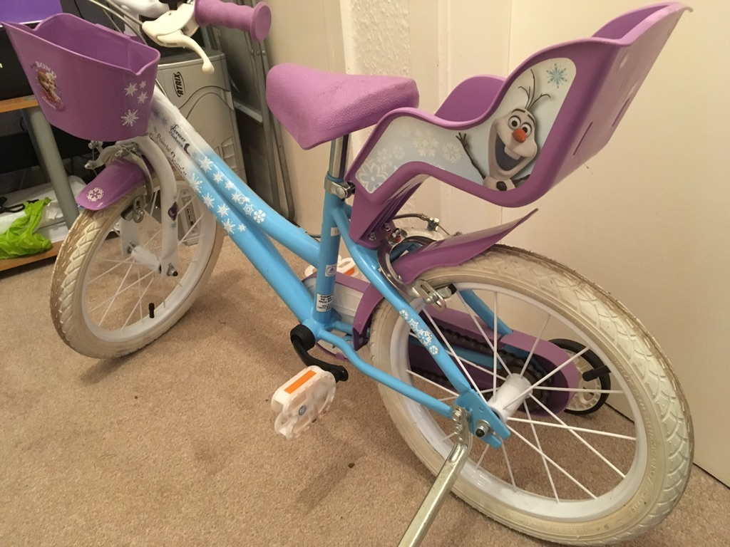 "Girls 16"" Frozen bike"