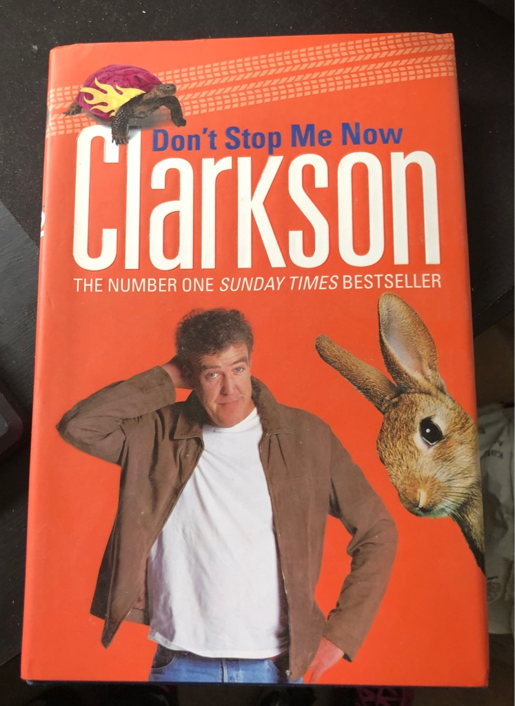 CLARKSON DON'T STOP ME NOW BOOK