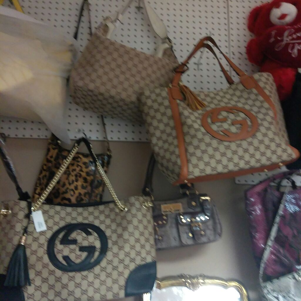 Purses,jewerly,clothes,perfumes,house ware,ect