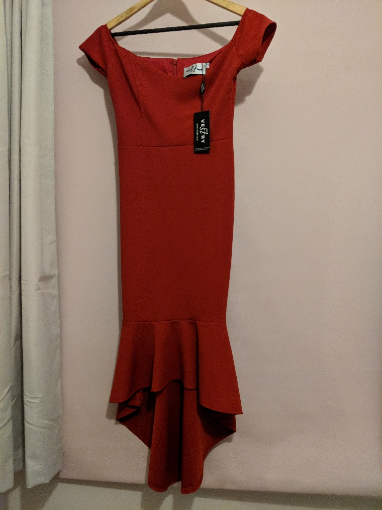 Red dress, Vestry, new with tags, size 10