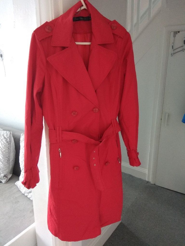 Used briliant condition Red jacket xl