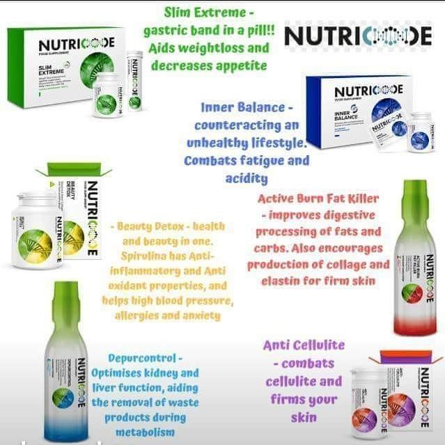 Nutricode weight loss and vitamins