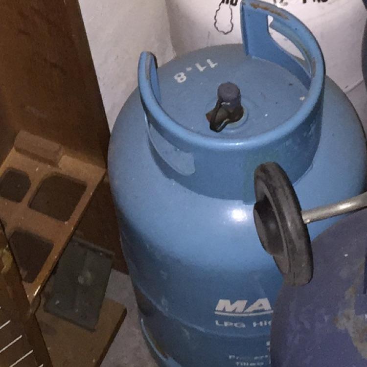 Gas bottle empty 12kg