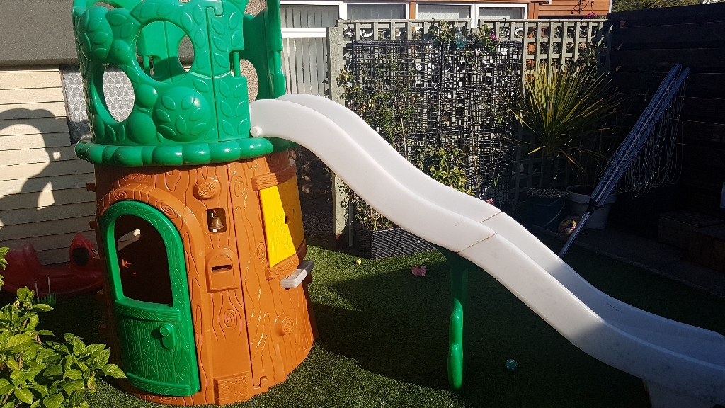 Childrens garden Playhouse and Slide