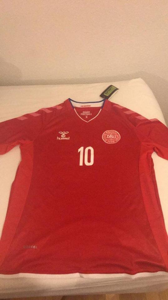 Denmark Eriksen Football Top
