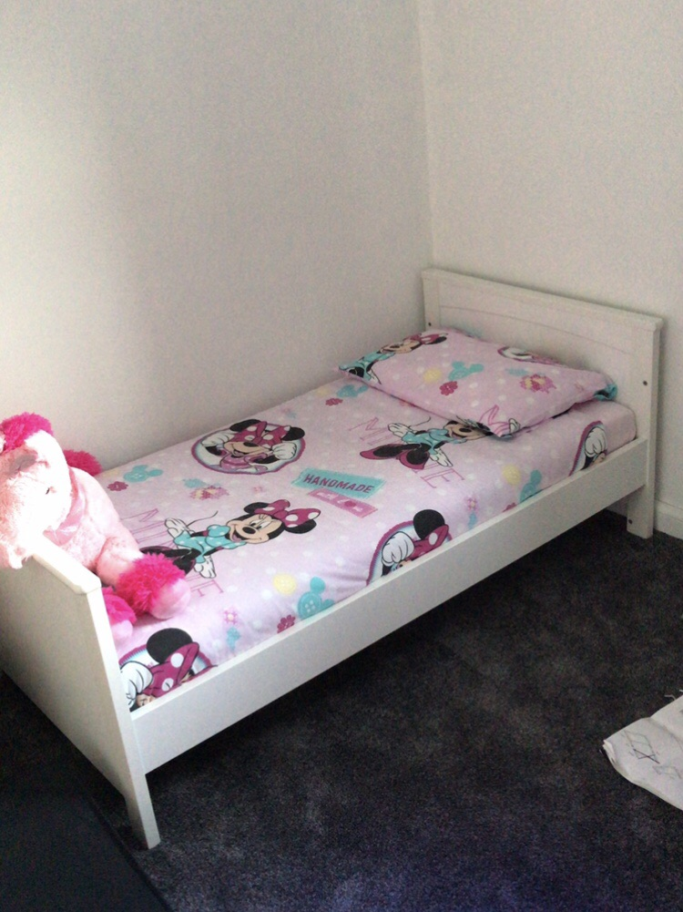 Silvercross cot bed & mattress