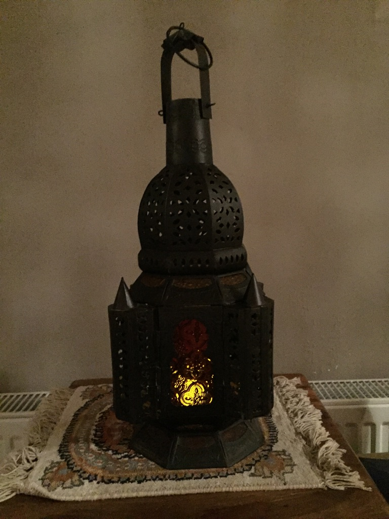 Mosque candle holder / ornament