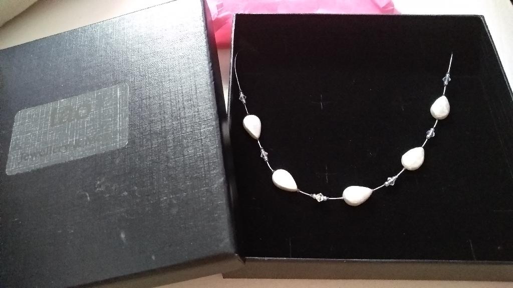 Custom Pearl & Diamonate Necklace