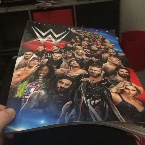 WWE official program