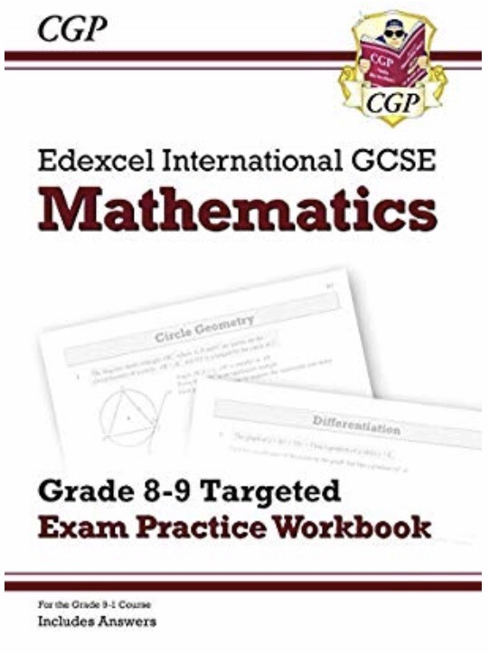 CGP Edexcel igcse maths revision work book with answer