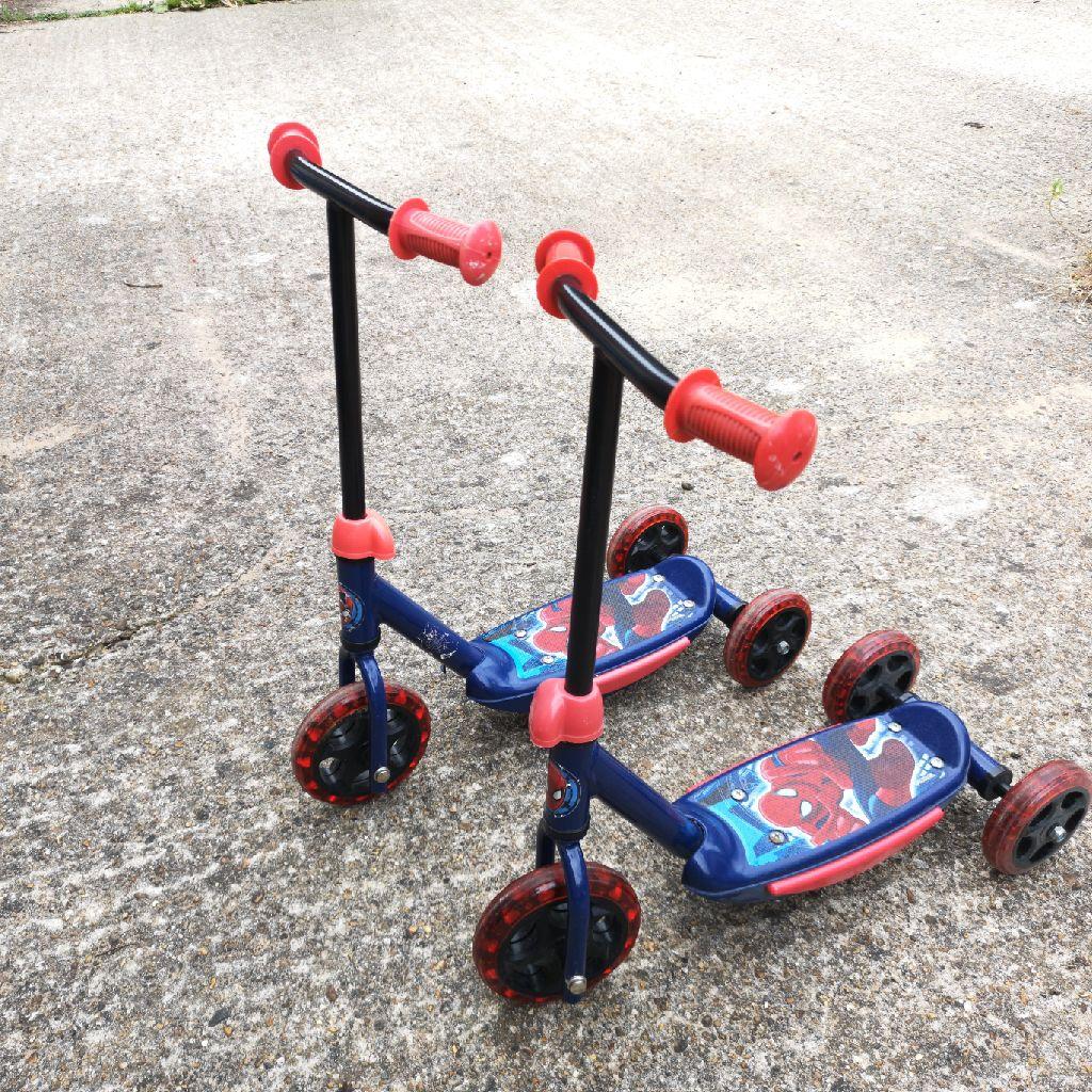 Spiderman Tri - Scooter