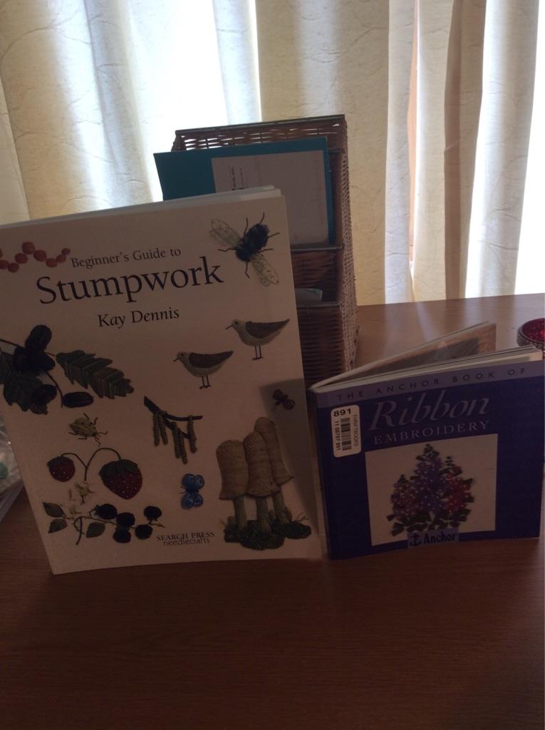 Needlework books