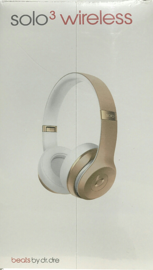 Gold Beats by Dre Solo3 Headphones