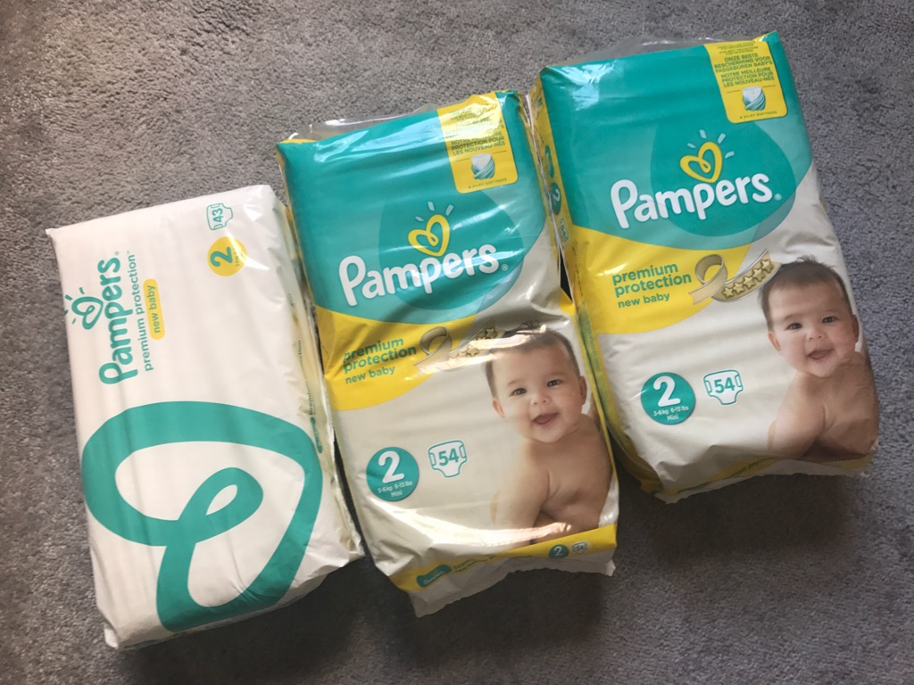 BRAND NEW Pampers Size 2 Nappies