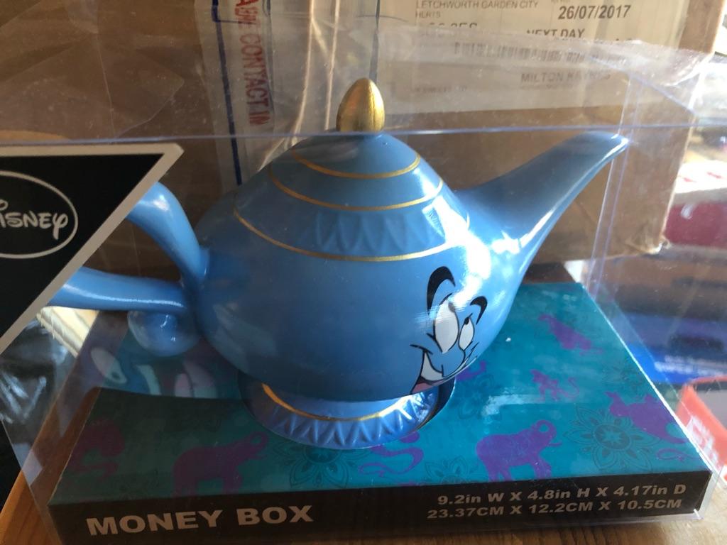 Genie lamp money box