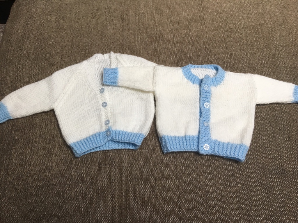 Baby boy knitted cardigans NEW