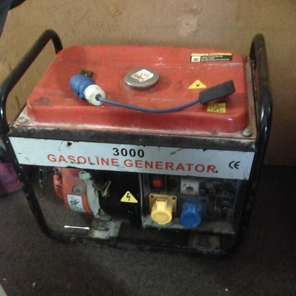 110/240 volt petrol generator