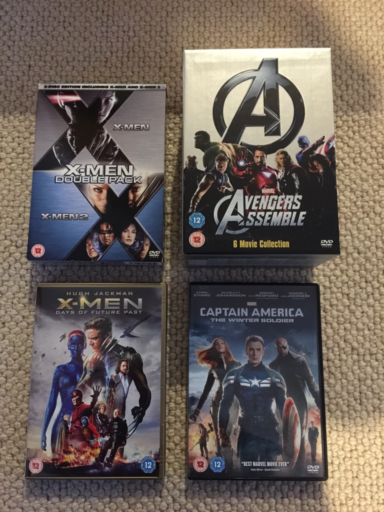 Marvellous Movies for the Marvel fan!