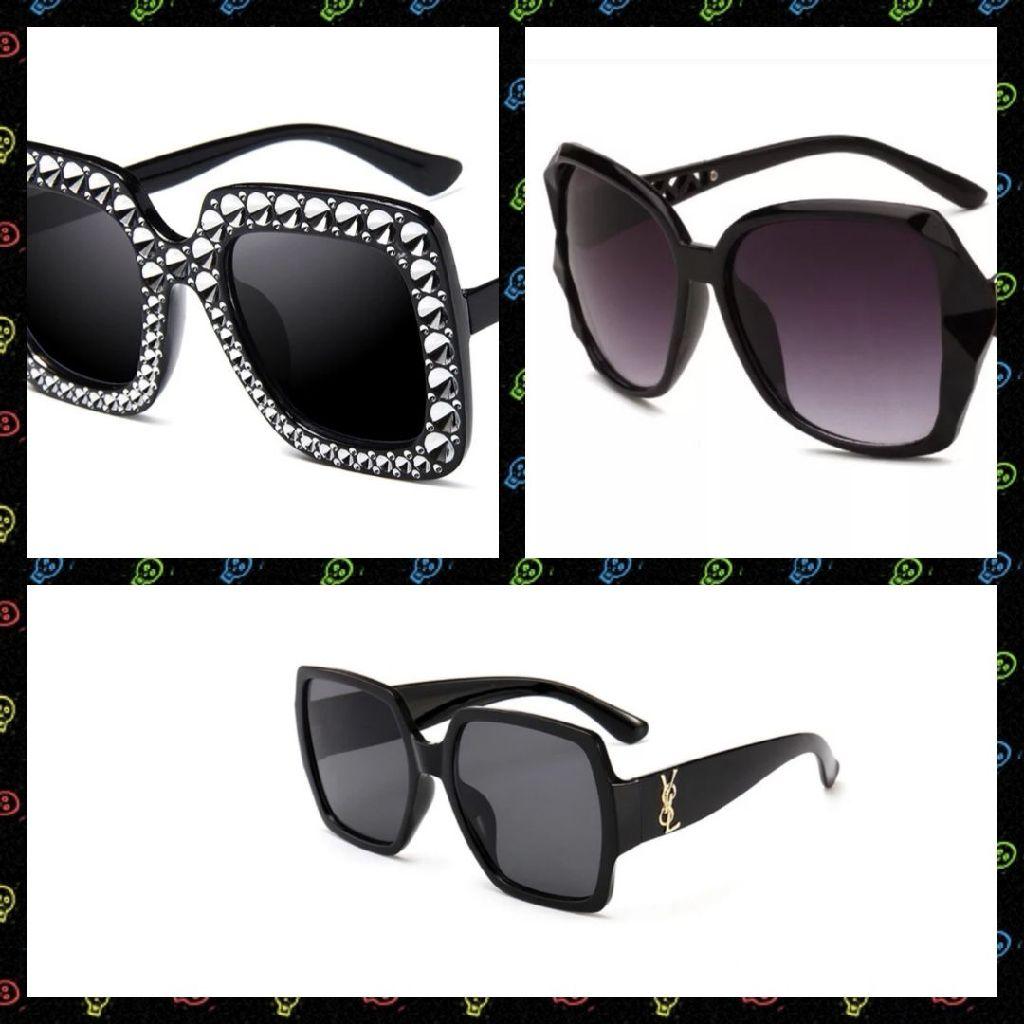 Vintage Frame, Diamonte & YSL Sunglasses