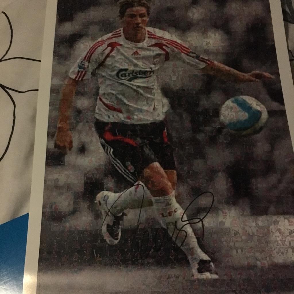 Torres print signed