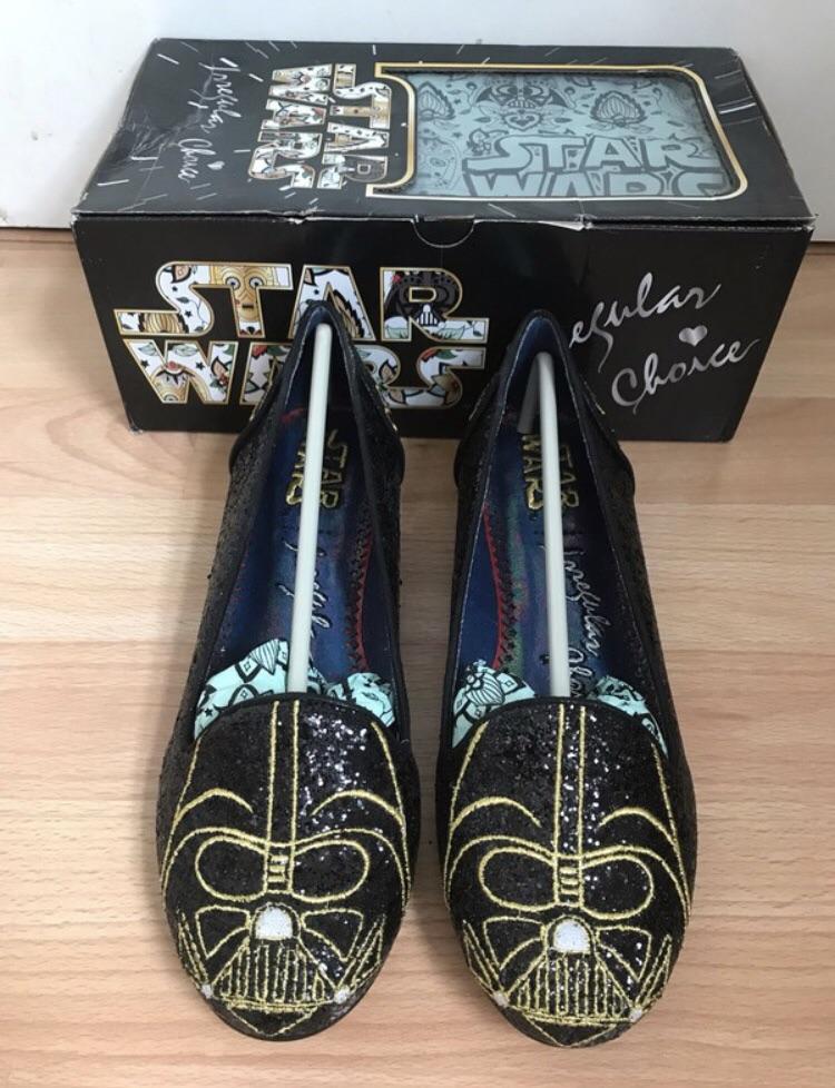 Irregular Choice Star Wars Darth Vader size 7 shoes