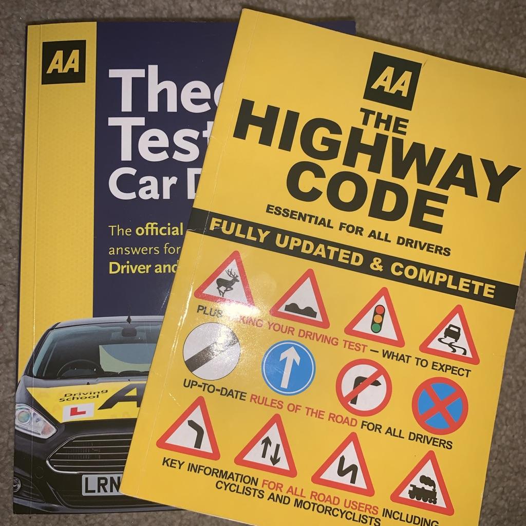 2 AA Theory Test Books