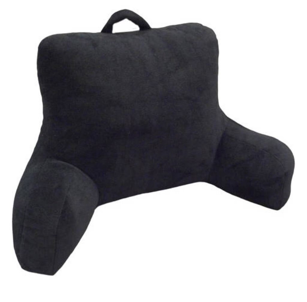 Mainstays Micro Mink Plush Bedrest (plush pillow)