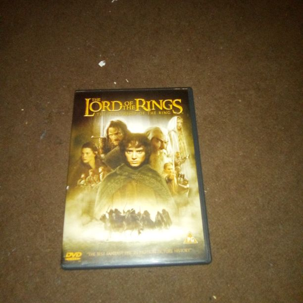Lord of the rings with 2 disks