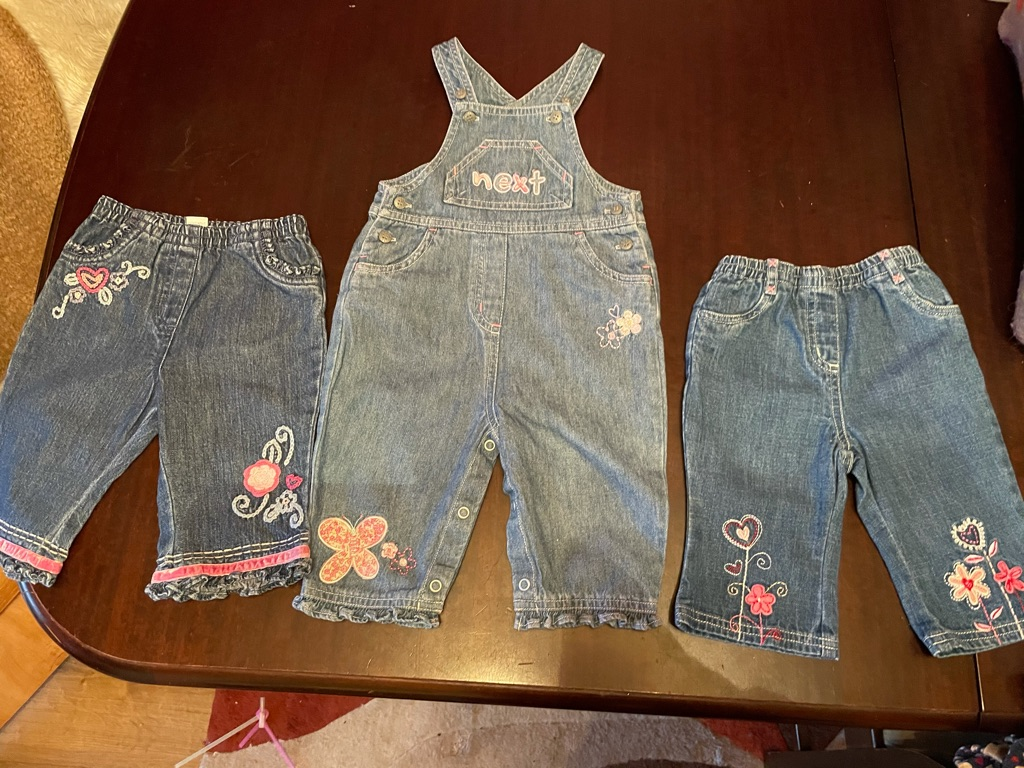 A Lovely Summer Bundle of Girls Baby Clothes age 3-6 months, 3 items