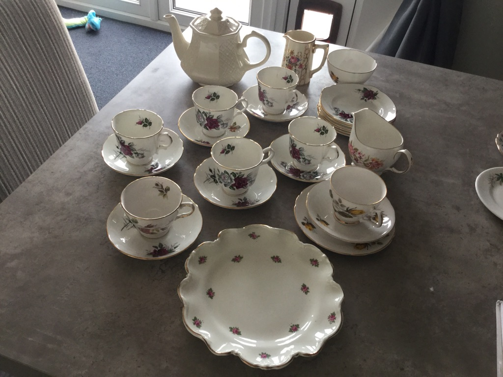 Queen Anne China Tea Set