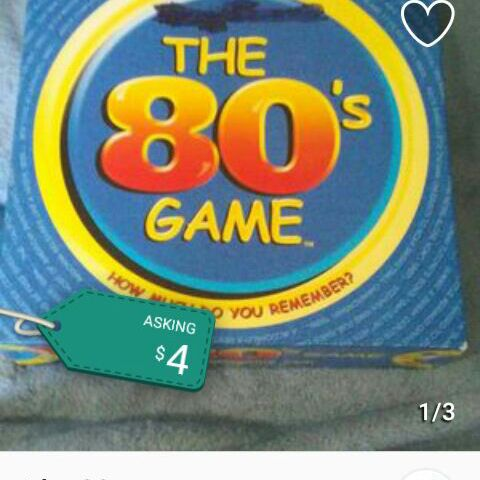 The 80s game