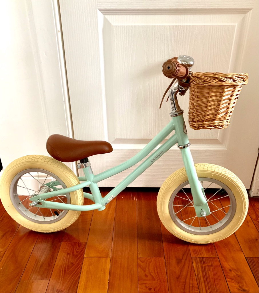 Bobbin Gingersnap Balance Bike - Mint Green