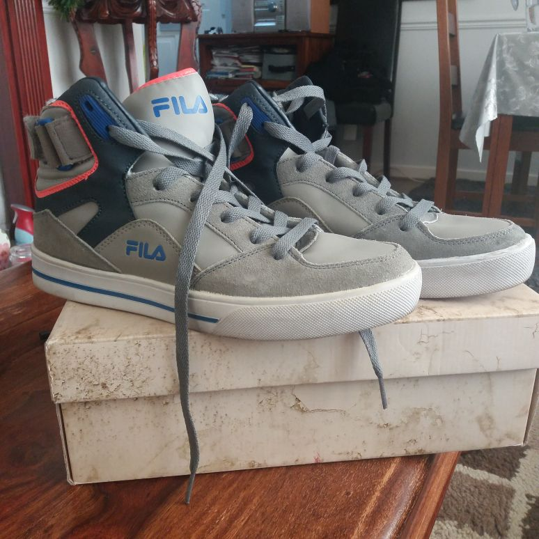 Boys Fila high tops