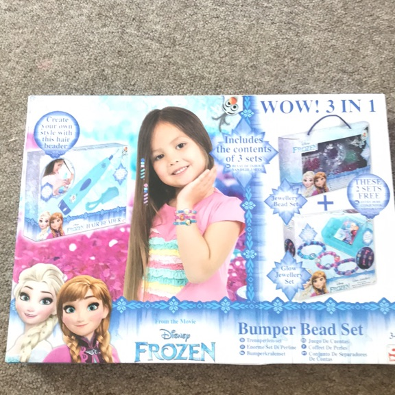 Disney Frozen Bumper Bead Set